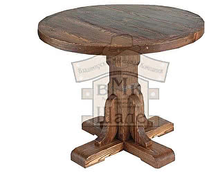 Купить стол ВМК-Шале Медведь круглый