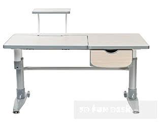 Купить стол FunDesk Ballare с ящиком и барьером SS12D
