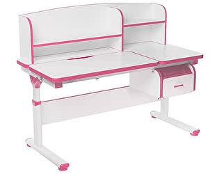 Купить стол FunDesk Creare с надстройкой и ящиком