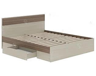 Купить кровать Шагус ТД с ящиками 1400 Стиль