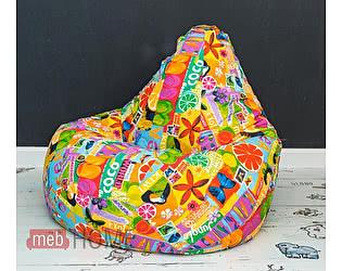 Купить кресло Dreambag Груша XL, жаккард 5 кат