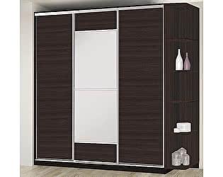 Купить шкаф Боровичи-мебель купе 3-дверный (2100х600)