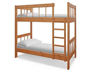 Купить кровать ВМК-Шале Оля двухъярусная