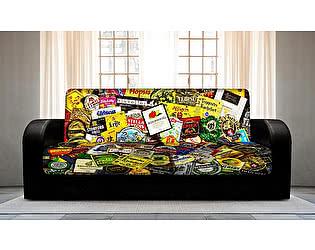 Купить диван FotoDivan книжка BEER (боковины закругленные)