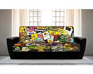 Купить диван FotoDivan книжка BEER (боковины амстердам)