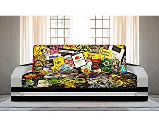 Купить диван FotoDivan книжка BEER (боковины с подсветкой)
