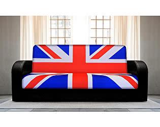 Купить диван FotoDivan книжка Британский флаг 1 (боковины закругленные)