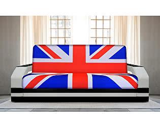 Купить диван FotoDivan книжка Британский флаг 1 (боковины с подсветкой)