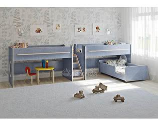 Купить кровать Легенда трехъярусная 23.5