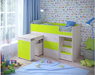 Купить кровать Ярофф чердак Малыш  (70х160)