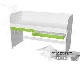 Купить кровать BTS Мамба КР-06 двухъярусная с ящиком