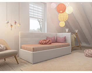 Купить кровать Орма-мебель Life 1 софа (экокожа)