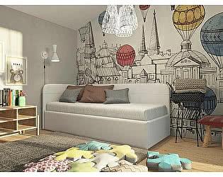 Купить кровать Орма-мебель Life Junior софа (экокожа/ткань)