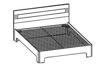 Купить кровать Santan Леонардо КР-206 (140)