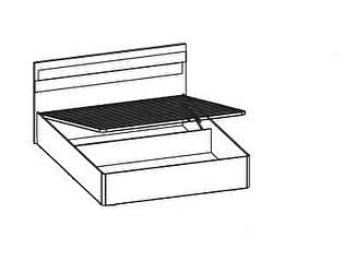 Купить кровать Santan Леонардо КРП-201 (140)