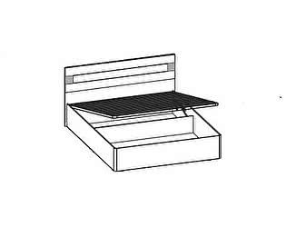 Купить кровать Santan Леонардо КРП-206 (140)