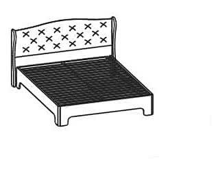 Купить кровать Santan Эйми КР-1701 (120)