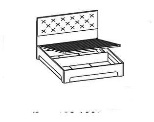 Купить кровать Santan Луна КРП-1203 (160)