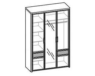 Купить шкаф Santan Камелия Matrix ШК-1104