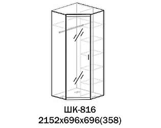 Купить шкаф Santan Лотос ШК-816