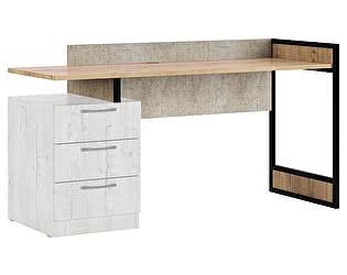 Купить стол МСТ Дублин Стоун прямой, модуль 4 (без тумбы)
