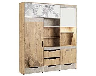 Купить шкаф МСТ Дублин Стоун универсальный, модуль 12