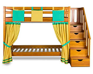Купить кровать Мебель Холдинг Альпинист 2х ярусная