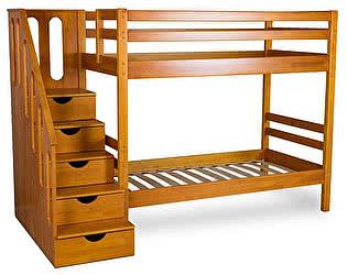 Купить кровать Мебель Холдинг Журавушка 2х ярусная