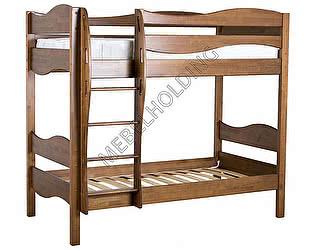 Купить кровать Мебель Холдинг Ладушка Волна 2х ярусная