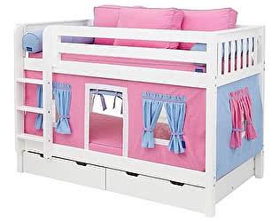 Купить кровать Мебель Холдинг Мальвина 2х ярусная