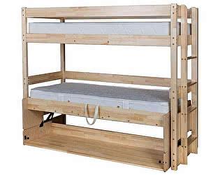 Купить кровать Мебель Холдинг трансформер Знайка Эко (эмаль белая)