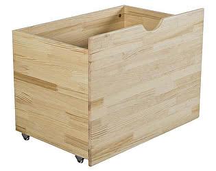 Купить  Мебель Холдинг Ящик для игрушек Кроха-2 (эмаль белая)