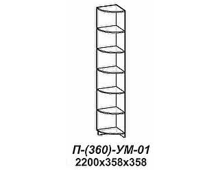 Купить стеллаж Santan Элит-П-(360)-УМ-01