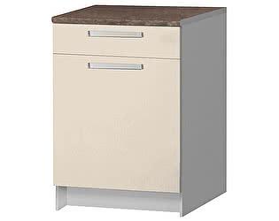 Купить стол Боровичи-мебель Вайт с ящиком 600, ВН-113