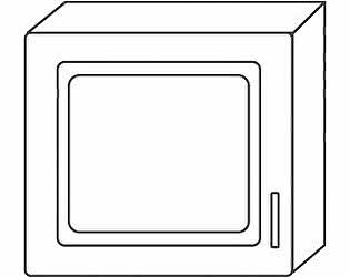 Купить антресоль Мебель Холдинг Ждана (мод.31) 450 1дверная навесная