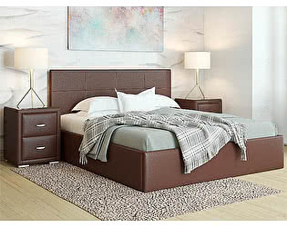 Купить кровать Орма-мебель Alba с подъемным механизмом (экокожа цвета люкс)