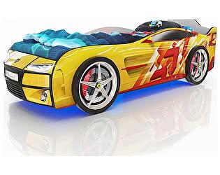 Купить кровать Romack Kiddy Желтые линии