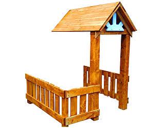 Купить игровым комплексам Можга Красная Звезда Веранда (Р931) для Солнечого домика