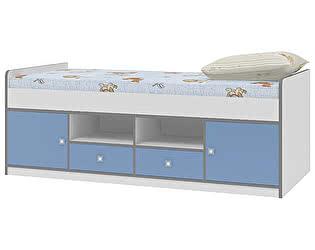 Купить кровать Формула Мебели чердак Дельта 19.1 Сильвер