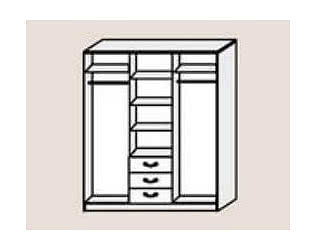 Купить шкаф Диал Шкаф 3-х дверный Кэт-6 Классика