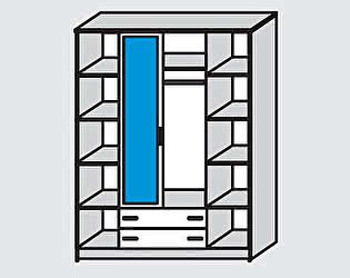 Купить шкаф Диал Шкаф 4-х дверный Кэт-7