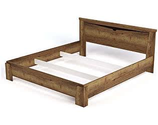 Купить кровать СБК Гарда 1800 (дуб галифакс табак) арт. 10222