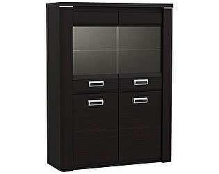 Купить шкаф СБК ГМ-5 низкий со стеклом