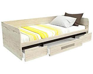Купить кровать СБК Мале с ящиком
