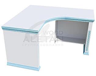 Купить стол Aletan Wood письменный угловой (IC602)