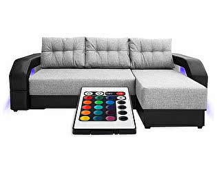 Купить диван FotoDivan угловой Манчестер с подсветкой