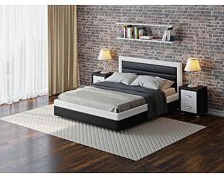 Купить кровать Орма-мебель Life 2 (ткань и экокожа цвета люкс)
