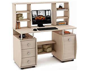 Купить стол ВМФ Карбон-7 компьютерный