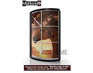 Купить шкаф Мебелеф Мебелеф-3 с фотопечатью