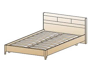 Купить кровать Лером КР-2862 (140)